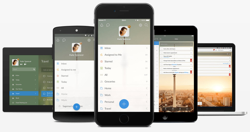 Wunderlist download for smartphones