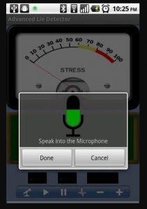 advanced lie detector plus
