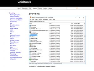 everything by voidtools