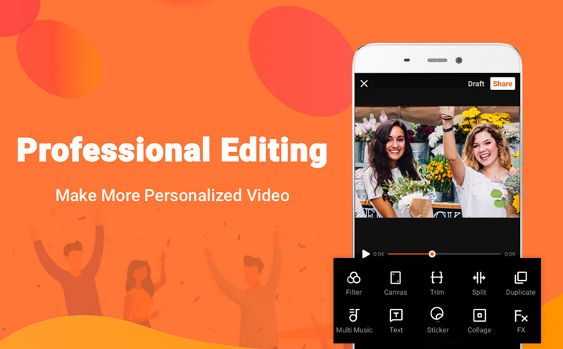 VivaVideo free video editing app