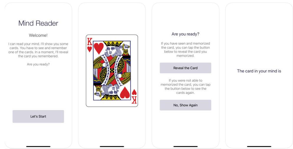 The Mind Reader Trick App