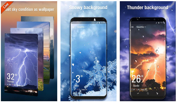 3D Weather Live Wallpaper APK