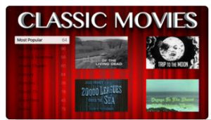 FREE CLASSIC MOVIES app screenshot