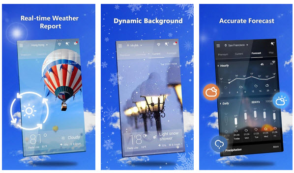 Live Weather Wallpaper Apps