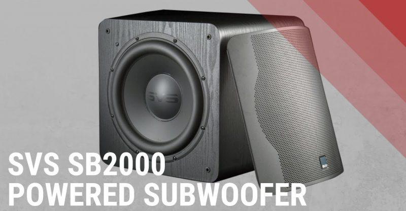 SVS PB-1000 Subwoofer