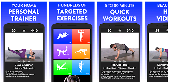 Daily Workouts - Android- Best Workout App - Team Touch Droid