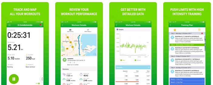 Endomondo Workout App - Best Workout App - team Touch Droid