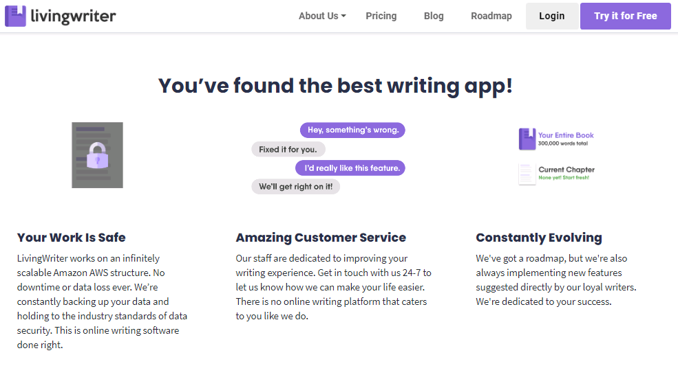 Living Writer - best Writing Apps - Touchdroid