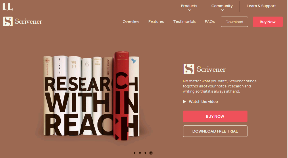 Scrivener - Best Writing App - Touchdroid