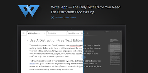 Write App - Best Writing Apps - Touchdroid