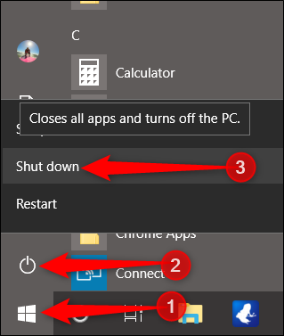 Start Windows 10 in Safe Mode - team touch droid