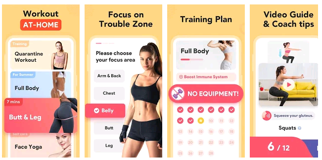 workout app women- Best Workout App