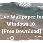 Free Live Wallpaper for Windows 10 - Team Touch Droid