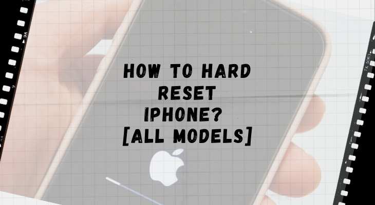 How to hard reset iPhone - all models - Team Touch Droid