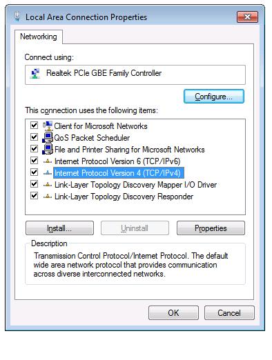 IPv4 Settings