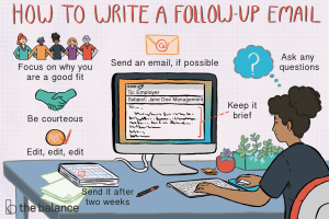 How to write a follow-up email
