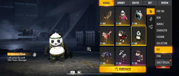 Jota & Detective Panda