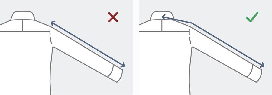 how to measure sleeve length